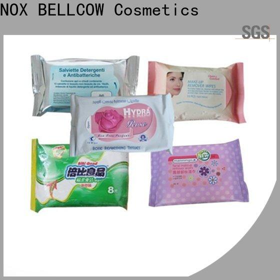 NOX BELLCOW green men's facial cleansing wipes wholesale for adult