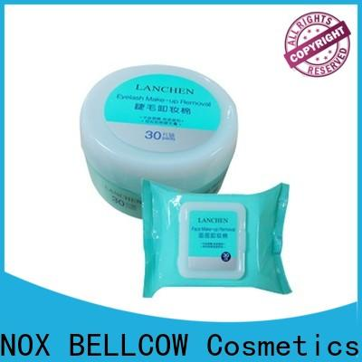 NOX BELLCOW eye makeup remover wipes for sensitive skin factory for face