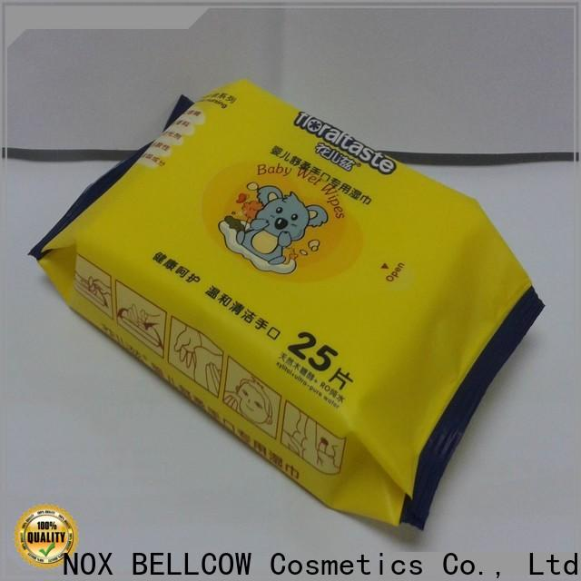 NOX BELLCOW pure best baby wipes manufacturer for hand