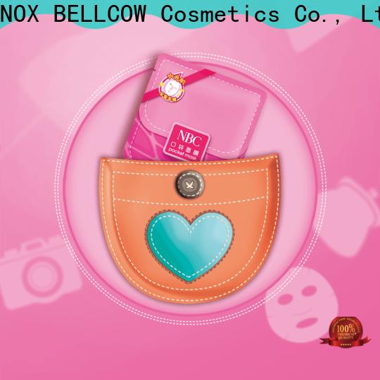 NOX BELLCOW moisturizing sheet face mask factory for man