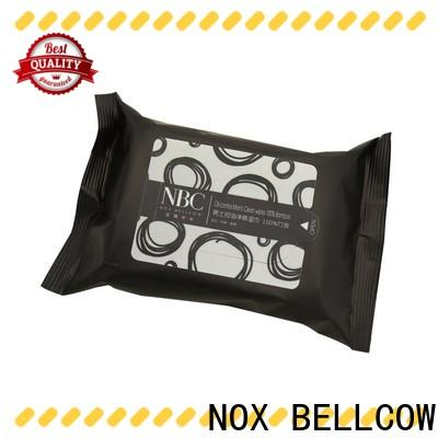 wet facial cleansing wipes 10pcs supplier for skincare