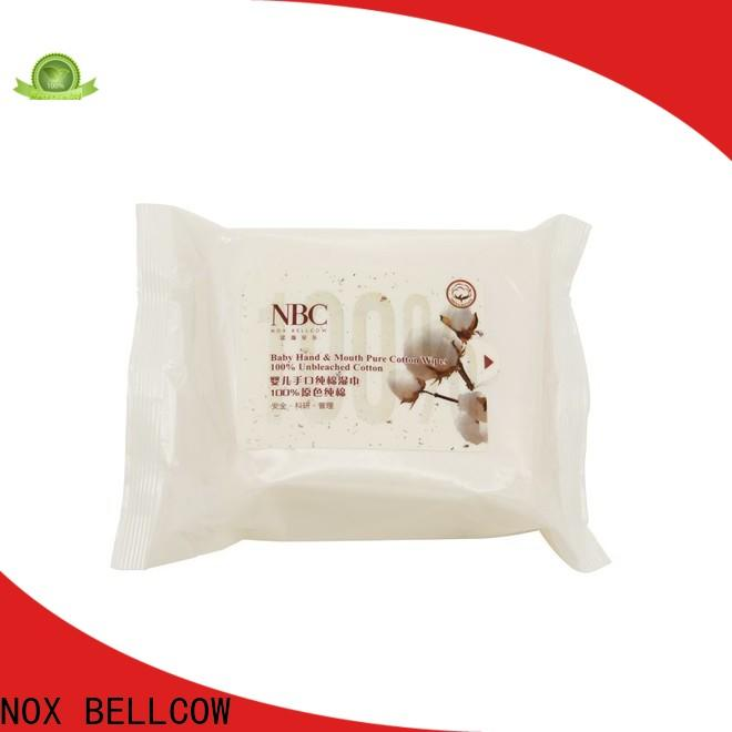 NOX BELLCOW wet baby water wipes factory for body