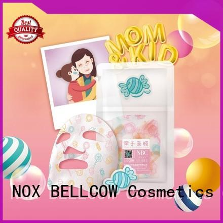 NOX BELLCOW cotton facial sheet mask manufacturer series for beauty salon