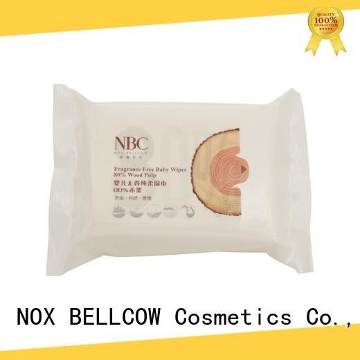 NOX BELLCOW fragrance best baby wipes supplier