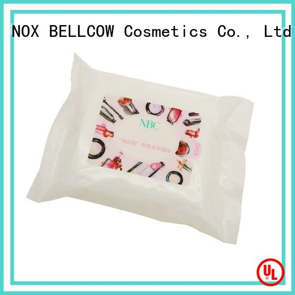 biodegradable makeup remover wipes for sensitive skin cleansing supplier for skincare