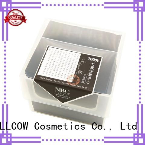 cotton wet and dry wipes bamboo wholesale for travel