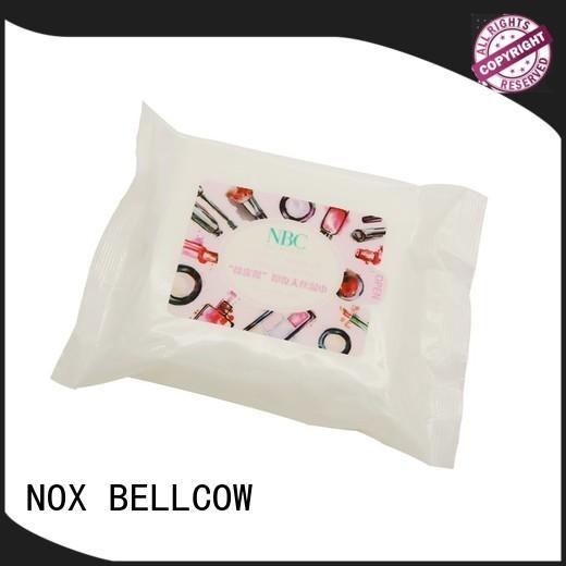 NOX BELLCOW tencel fiber makeup remover wipes for sensitive skin factory for face
