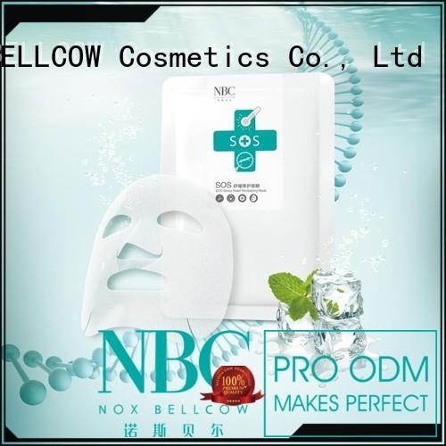 NOX BELLCOW Brand antiblue facial mask manufacturer moisturizing factory