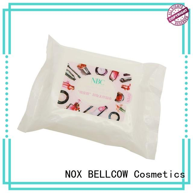 NOX BELLCOW makeup makeup remover wipes for sensitive skin supplier for ladies