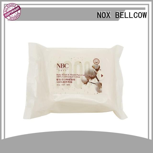 NOX BELLCOW 380pcs newborn baby wipes series for ladies