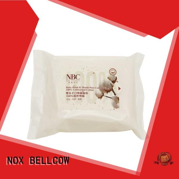 fragrance newborn baby wipes supplier for skincare NOX BELLCOW