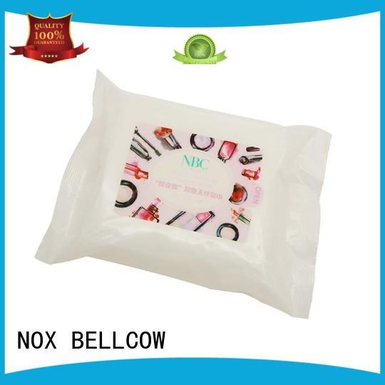 NOX BELLCOW Brand eye makeupremover oil free makeup remover wipes veoceltm supplier