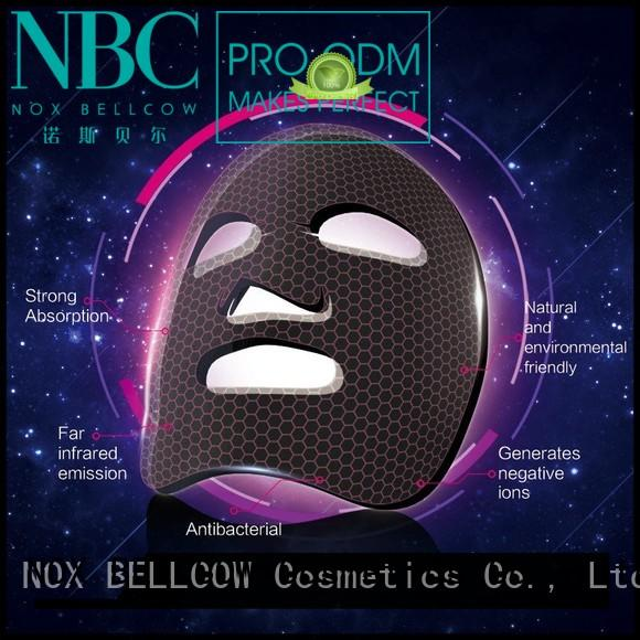 biomass graphene mask hydrogel facial mask manufacturer NOX BELLCOW Brand