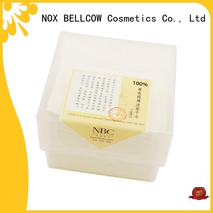 NOX BELLCOW cotton wet tissue paper supplier for outdoor