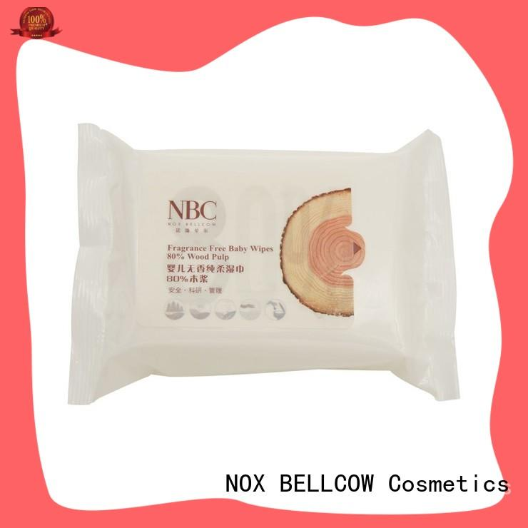 NOX BELLCOW vitamin E baby face wipes series for hand