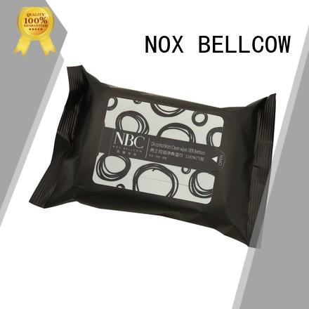 NOX BELLCOW w1b01 men's cleansing wipes supplier for hand