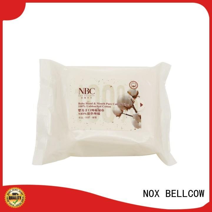 NOX BELLCOW vitamin E newborn baby wipes manufacturer for hand