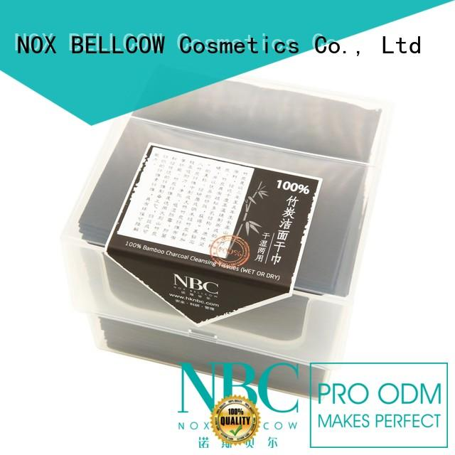 NOX BELLCOW pure wet dry wipes supplier for travel