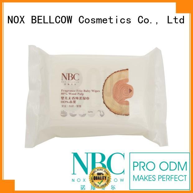 hand wet tender NOX BELLCOW Brand best baby wipes