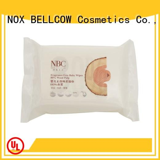NOX BELLCOW hand baby wet wipes supplier for skincare