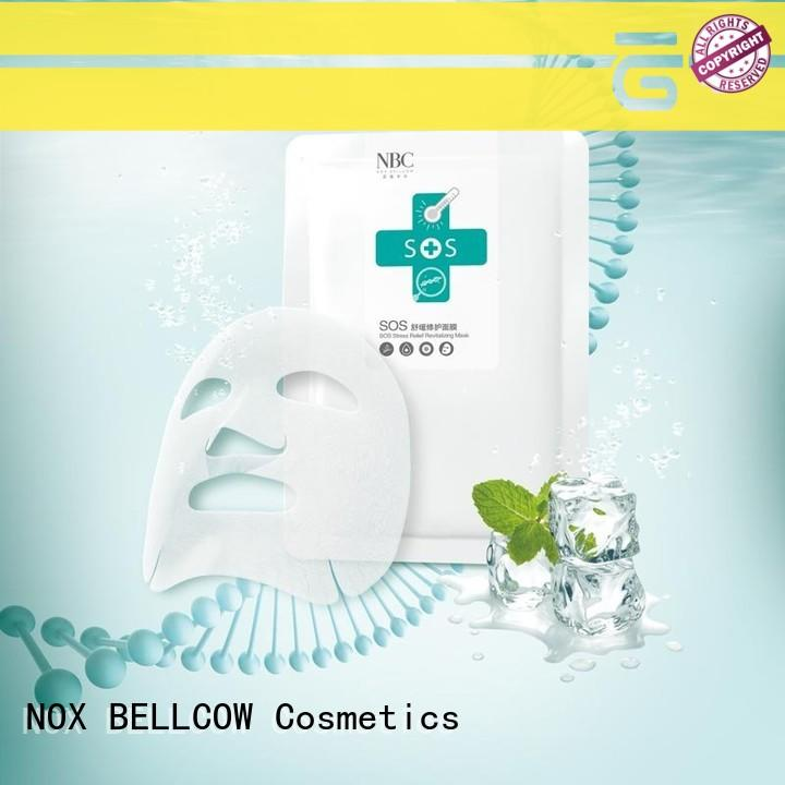 NOX BELLCOW dissolvable facial mask skin care products factory for women