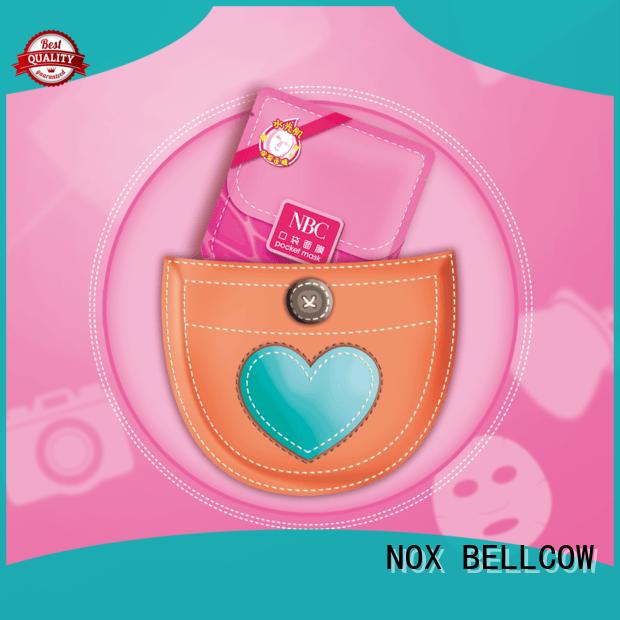 NOX BELLCOW revitalizing sheet face mask series for travel
