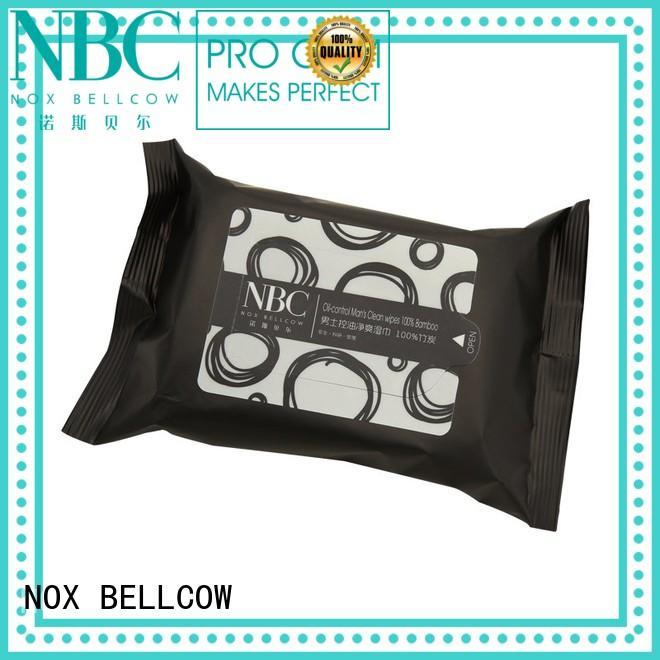 wipes wipe NOX BELLCOW Brand facial cleansing wipes