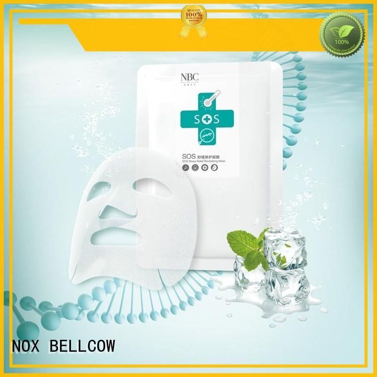 charcoal hydrating graphene whitening biomass graphene mask NOX BELLCOW Brand