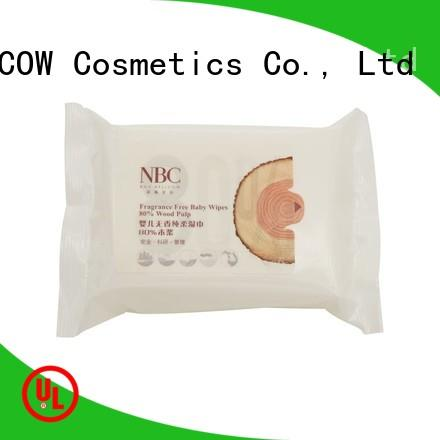 NOX BELLCOW vitamin E newborn baby wipes supplier