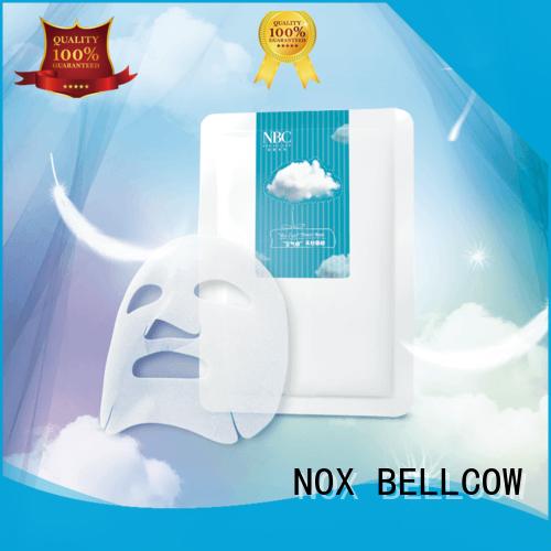 Hot firming facial mask manufacturer stress charcoal NOX BELLCOW Brand