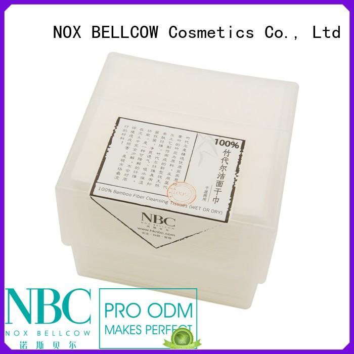 dry fiber antibacterial wipes cotton NOX BELLCOW company
