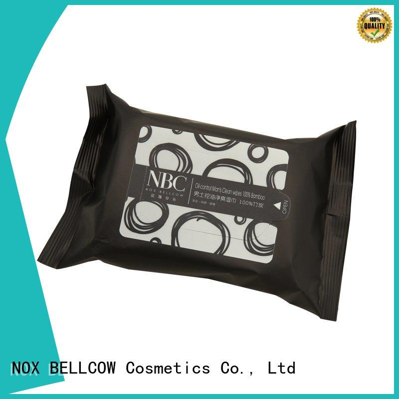 NOX BELLCOW tissues facial cleansing wipes supplier for face