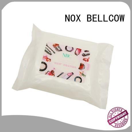NOX BELLCOW cotton makeup remover tissue supplier for neck