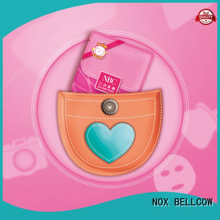 NOX BELLCOW ultra moisturizing face mask series for beauty salon