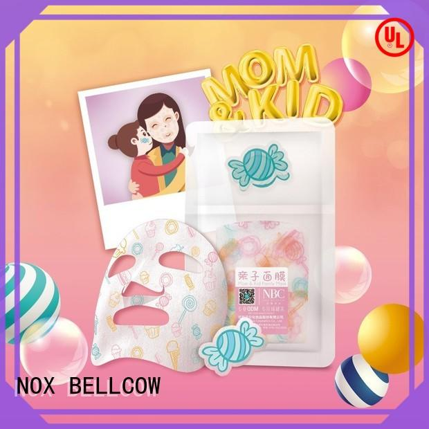 NOX BELLCOW revitalizing sheet face mask series for man