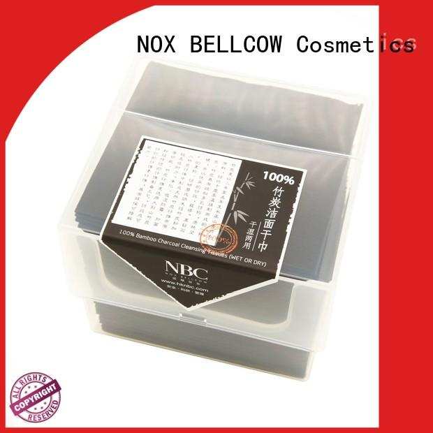 NOX BELLCOW bamboo wet and dry wipes supplier for living room
