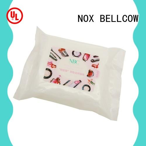 NOX BELLCOW wet makeup remover wipes wholesale for neck