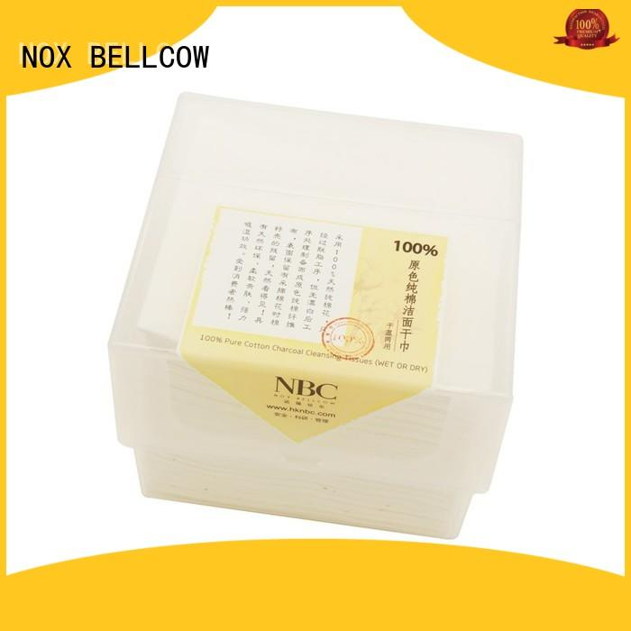 NOX BELLCOW charcoal wet and dry wipes wholesale for travel